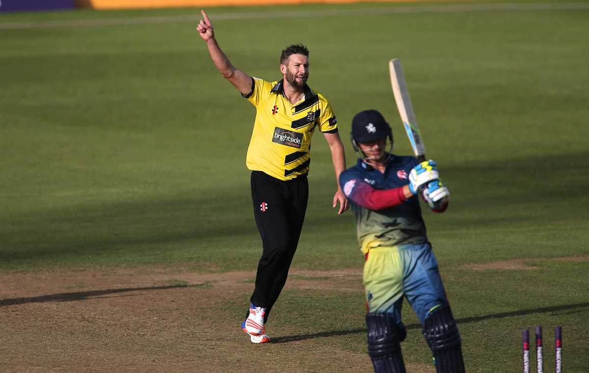 CRICKET: Gloucestershire sign Australian bowler Andrew Tye for Natwest T20 Blast