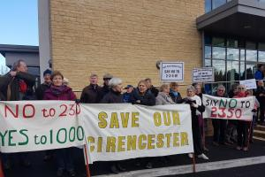 Read what they're saying on our Facebook page about the Bathurst housing development in Cirencester