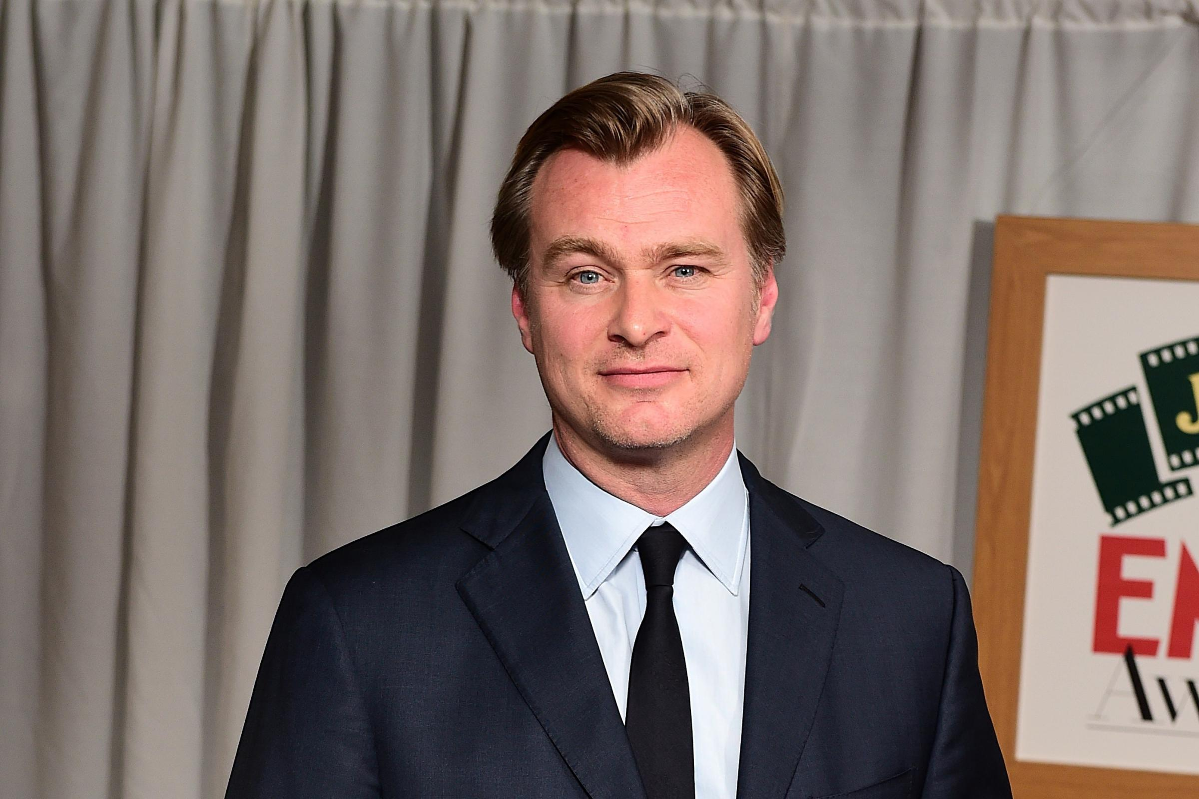 Christopher Nolan receives the Empire Inspiration Award during the Jameson Empire Film Awards 2015 held at Grosvenor House, on Park Lane, London