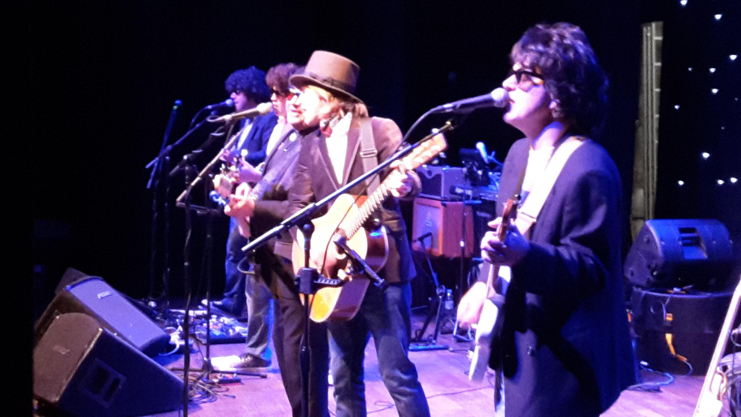Big O and the Wilburys will be at the Pavilion this weekend.Picture..travelingwilburystribute.co.uk