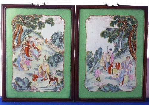 Tayler and Fletcher Auctions Chinese plaques