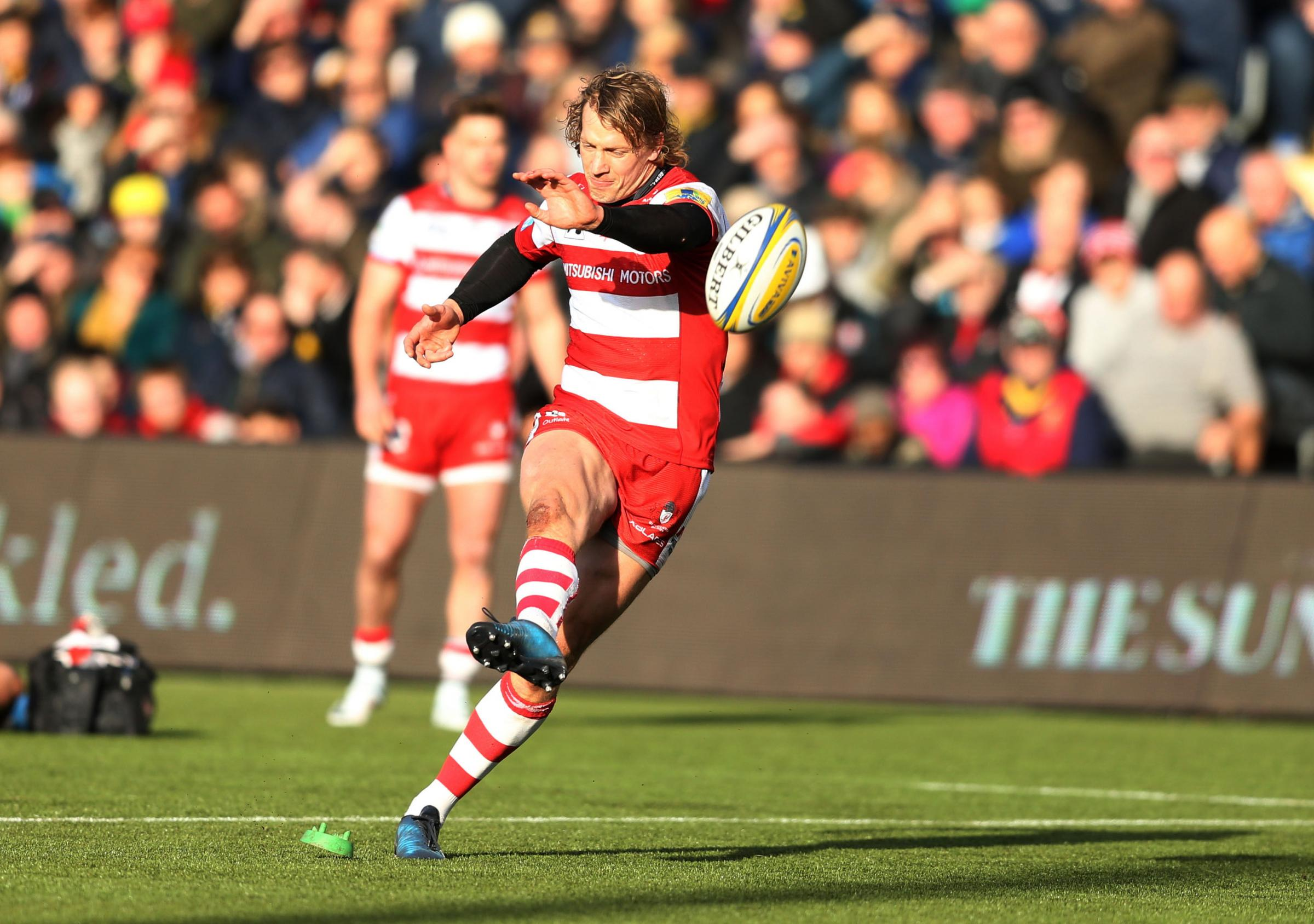 Gloucester's Billy Twelvetrees kicked two penalties and two conversions against Wasps