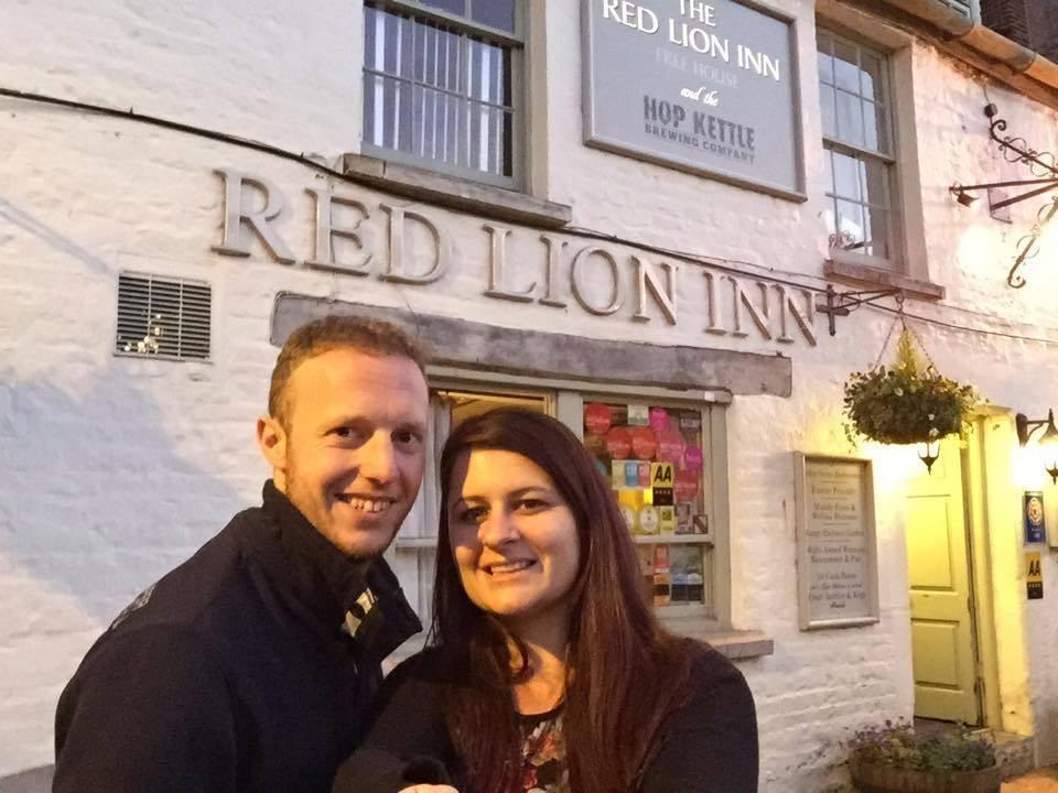 The couple visited every Red Lion pub in the UK