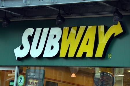 The man was caught on CCTV in Subway in Cirencester