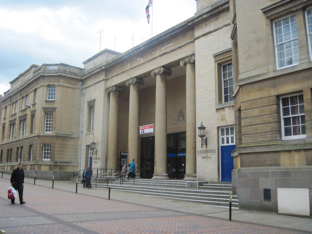 Shire Hall, the home of Gloucestershire County Council