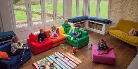 'Sqwish Me' have launched sofas specifically designed for children
