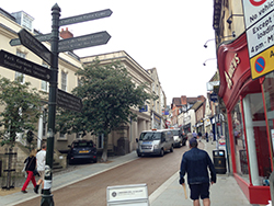 Wilts and Gloucestershire Standard: Stroud High Street