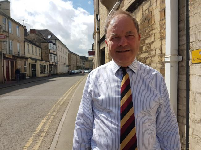 Sir Geoffrey Clifton Brown discussed planning strategies for Moreton in Marsh