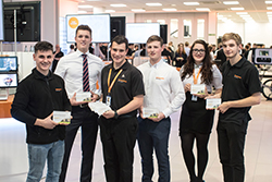Wilts and Gloucestershire Standard: Renishaw award-winning apprentices