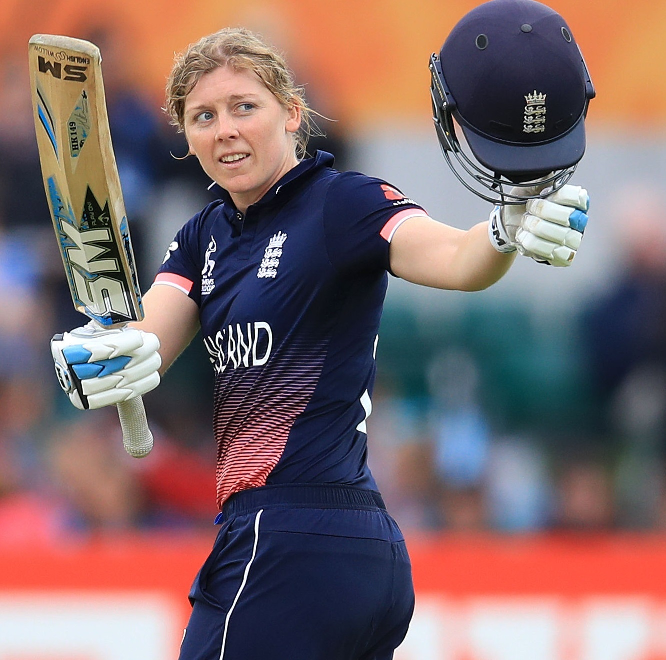 England and Western Storm captain Heather Knight