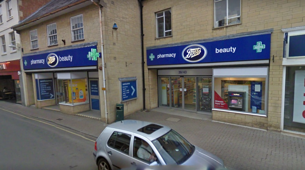 The epilators were stolen from the Boots on Cricklade street