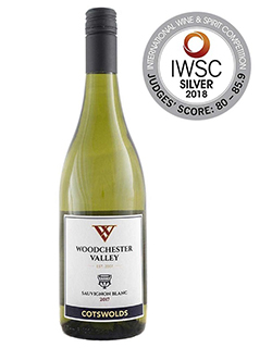 Wilts and Gloucestershire Standard: Sauvignon Blanc 2017 with medal