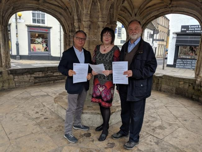 Malmesbury residents were asked for their views on a potential pedestrianisation of the Market Cross area back in June