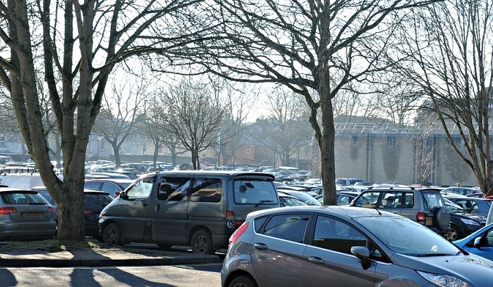The Brewery Car Park in Cirencester