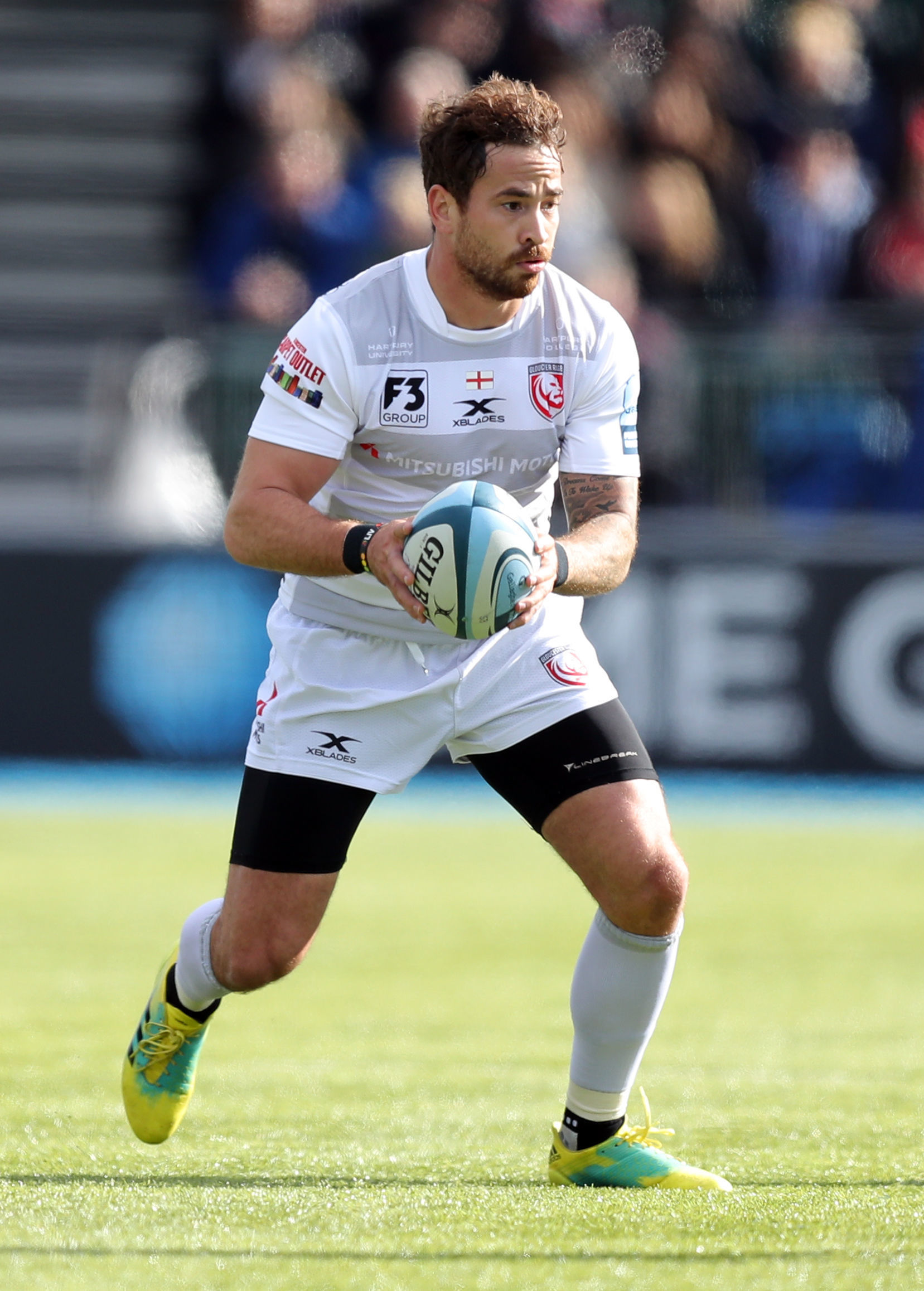 Gloucester Rugby's Danny Cipriani in action during the Gallagher Premiership match at Allianz Park, London. PRESS ASSOCIATION Photo. Picture date: Sunday September 23, 2018. See PA story RUGBYU Saracens. Photo credit should read: Andrew Matthews/PA Wi