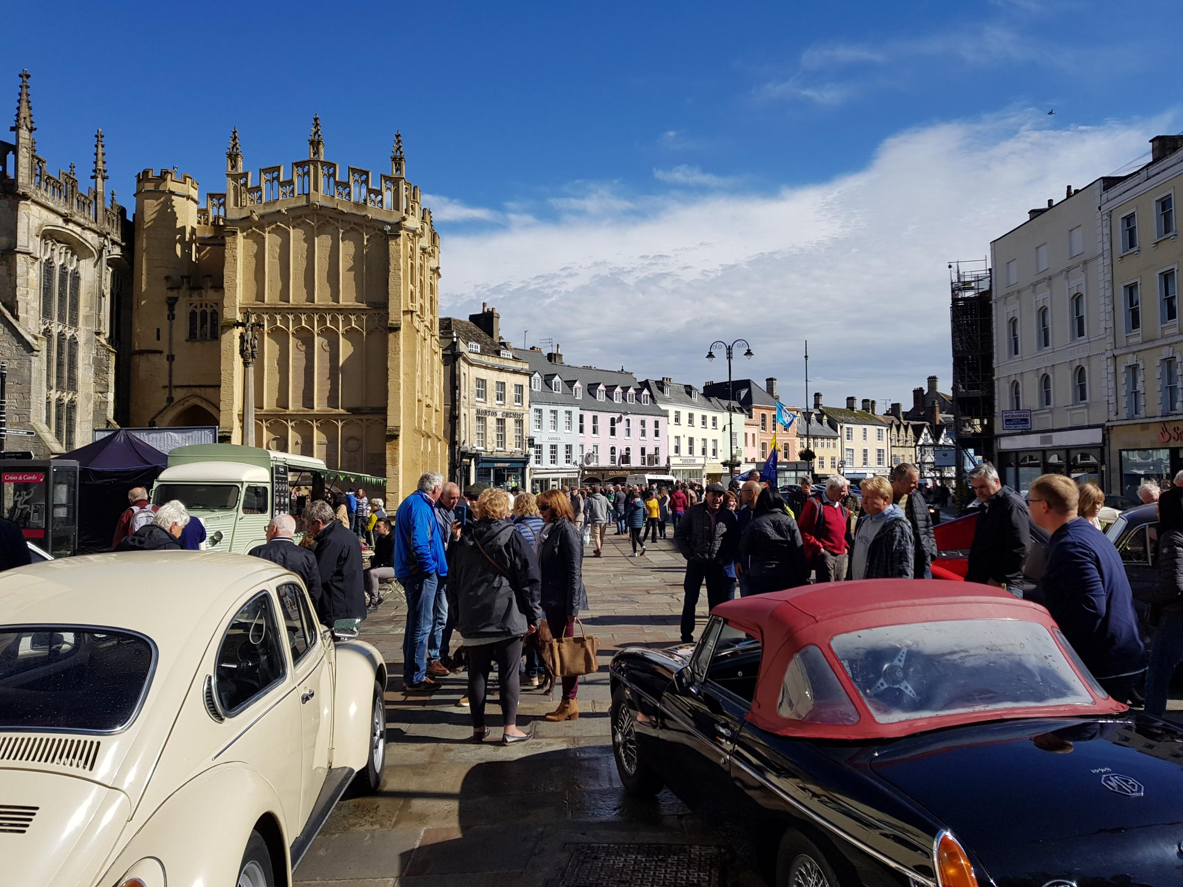 Cirencester Classic Car Show