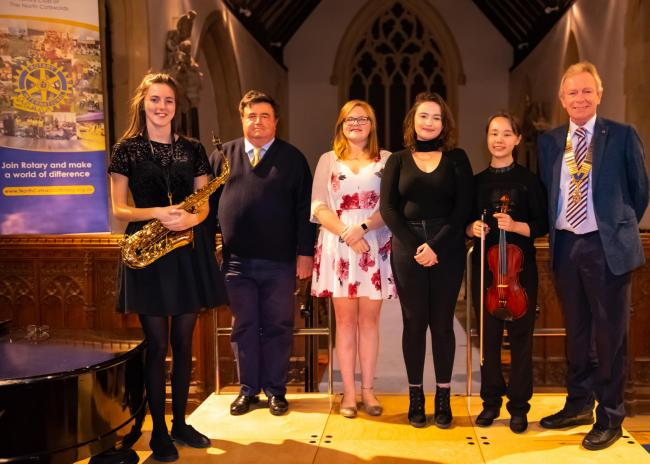 Talented young musicians perform in Rotary concert in Stow