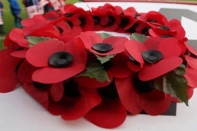 POIGNANT: Poppies will be worn with pride