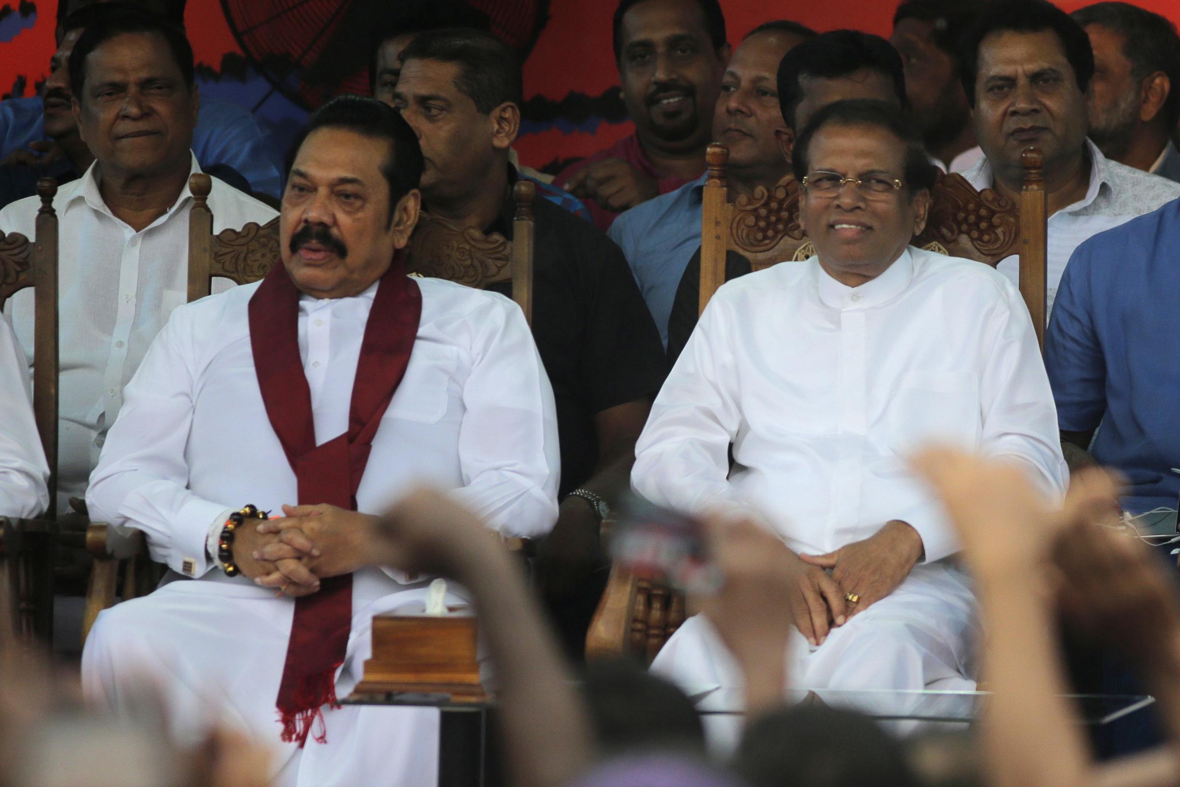 Sri Lanka Parliament rejects president's choice of PM