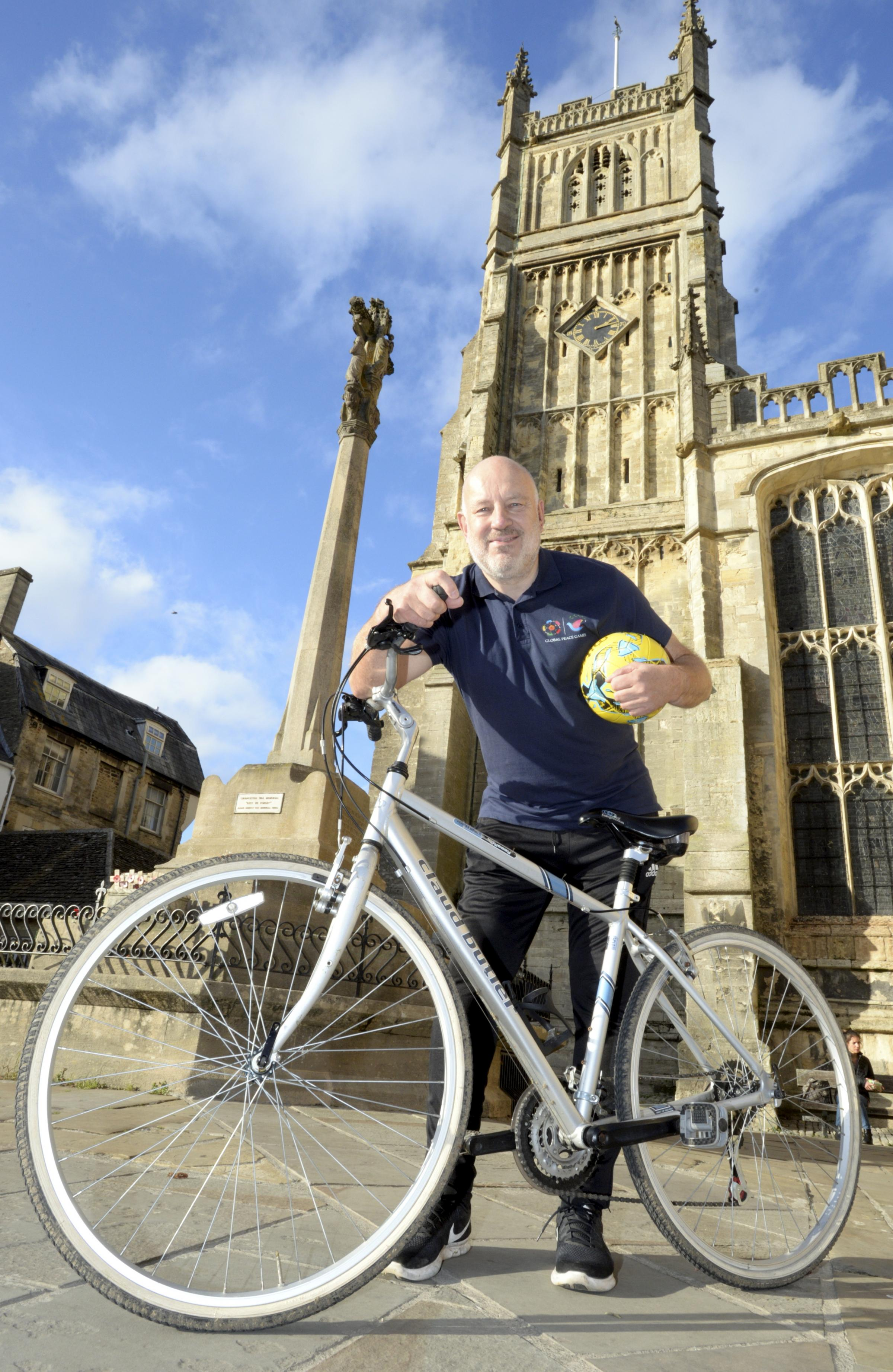 This Country star's epic 100 mile bike ride for charity