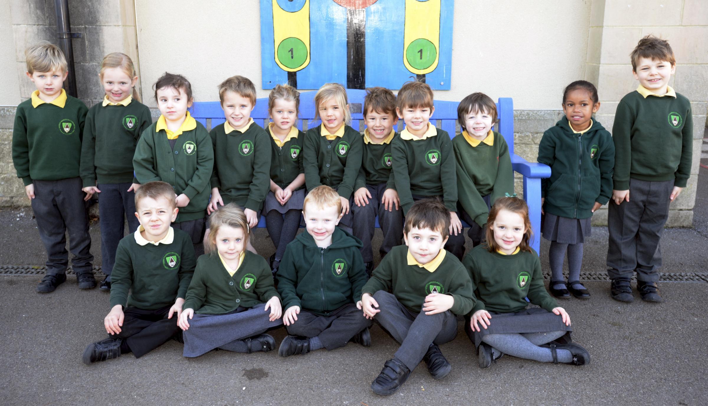 Kempsford C of E Primary School Reception Class Photos