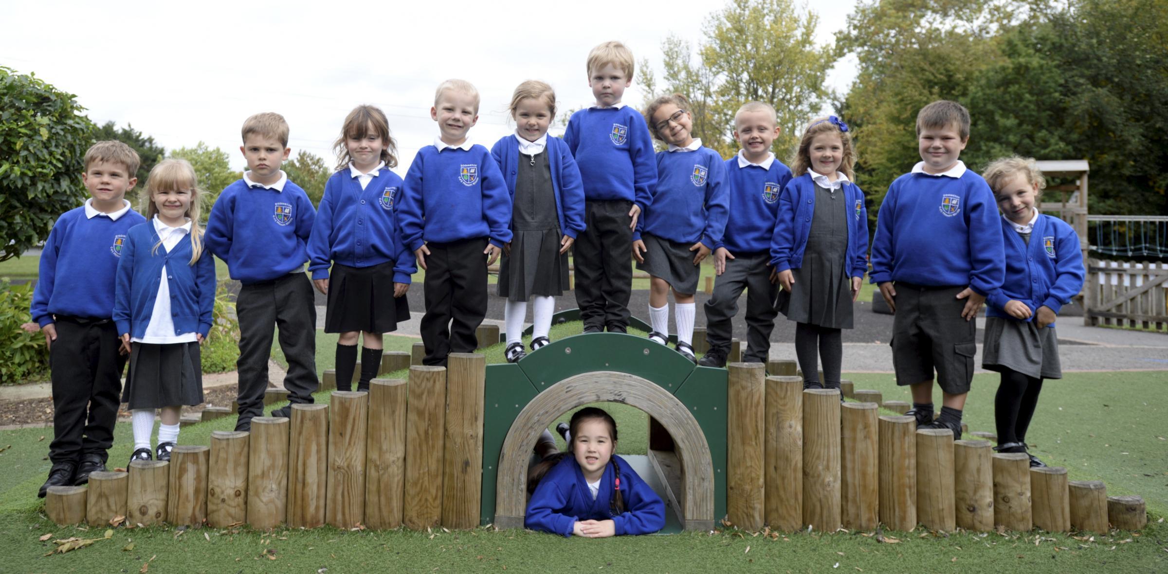 Siddington C Of E Primary School reception class photos
