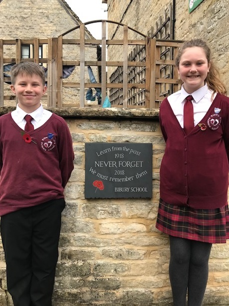 Bibury pupils learn from the past