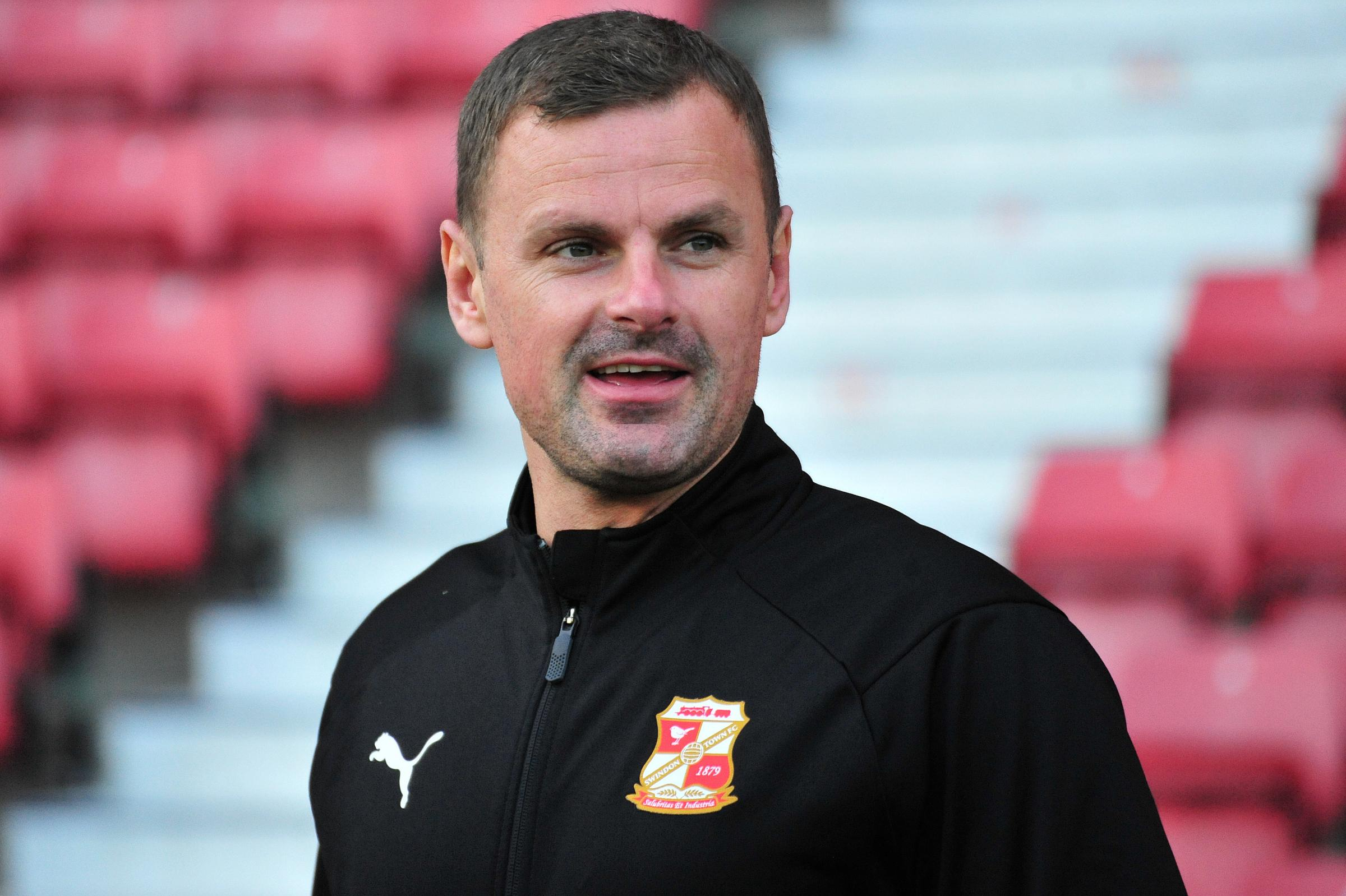 New Swindon boss had a disastorous start to life at the Energy Check County Ground