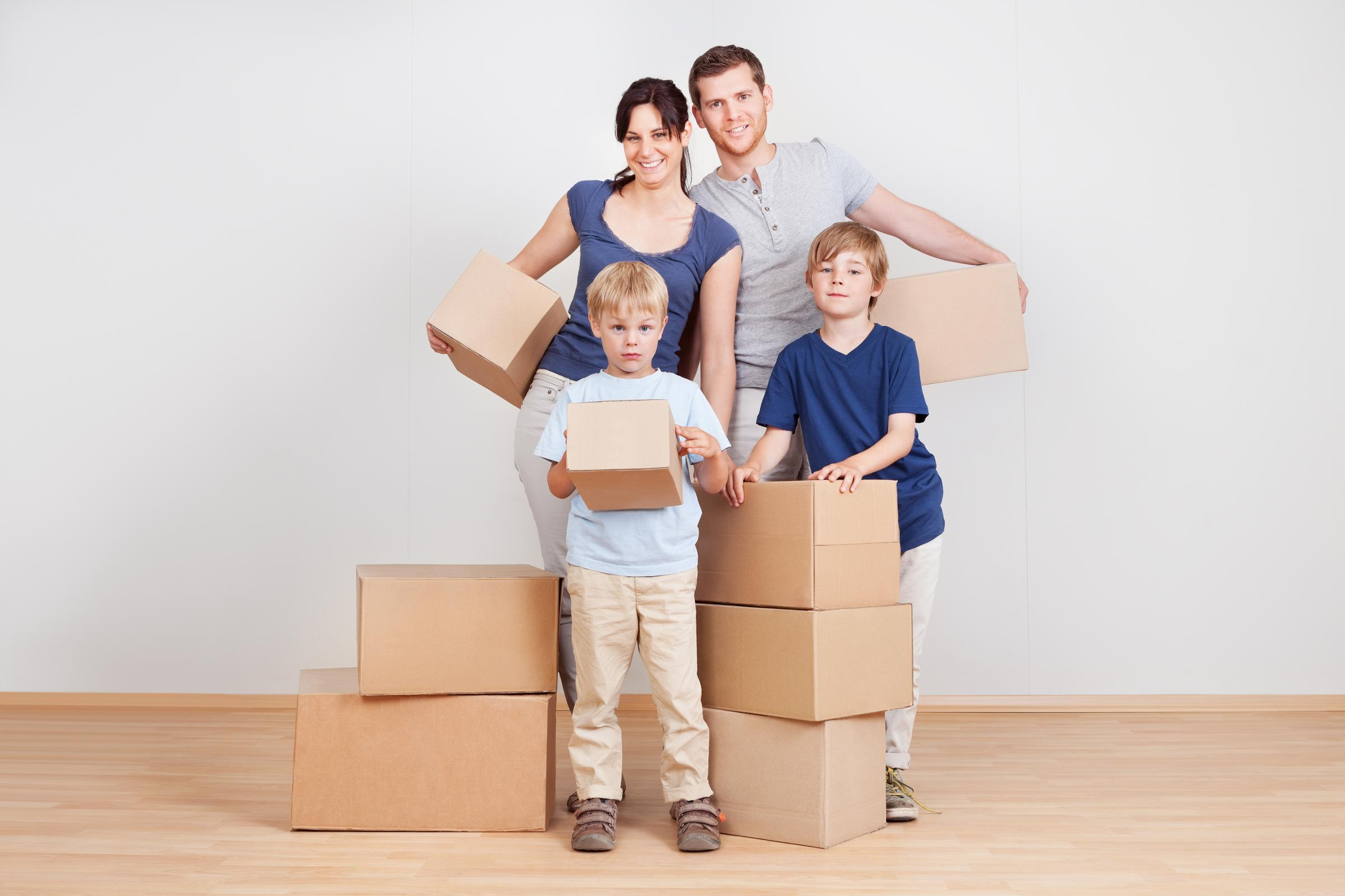 Many families are hoping to move