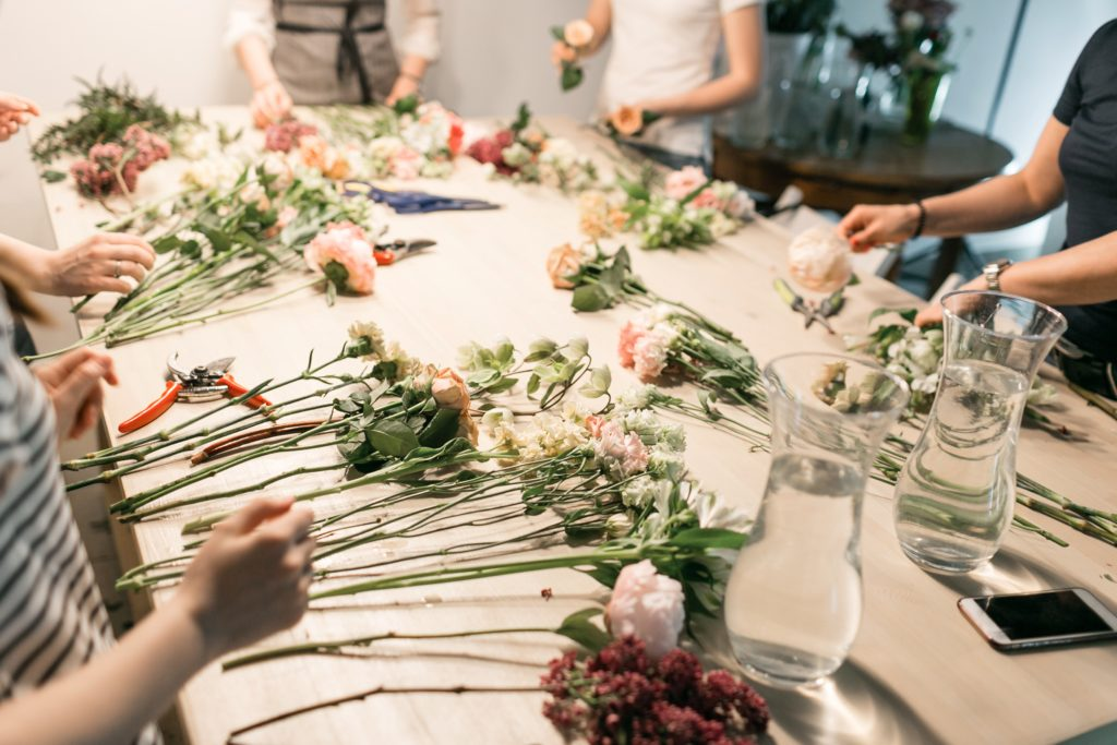 Floristry + Event Design for Hobbyists by Nadine + Nathaniel Flower School