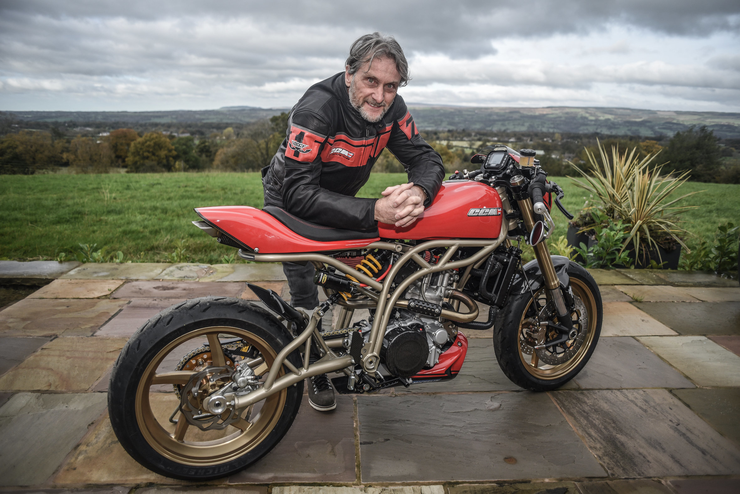 Carl Fogarty will be guest of honour at Castle Combe this year. Picture: Pete Stowe/Geoff Smith