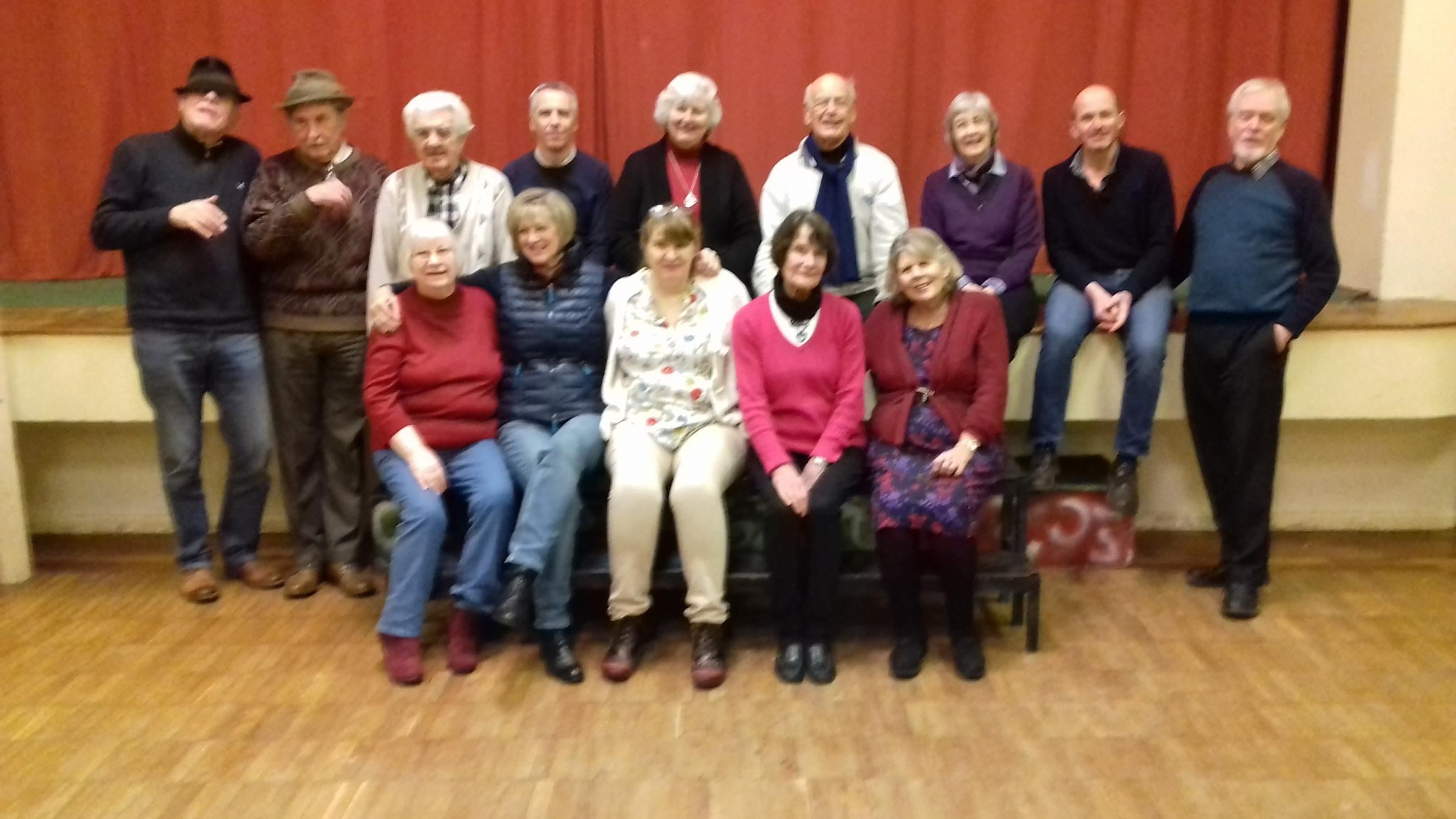 A popular drama group return to usual venue with a farce