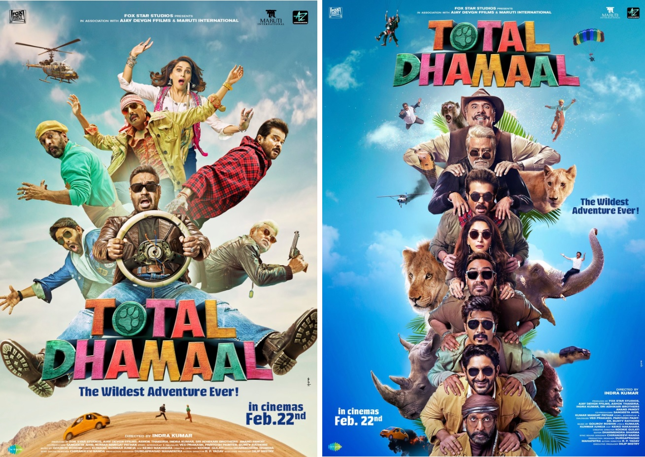 """TOTAL DHAMAAL""- Bollywood's Biggest Comedy Franchise is Back With Its Wildest Adventure Yet!"