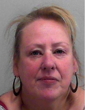 Sheila Thompson has been jailed following an incident on a flight from Bristol