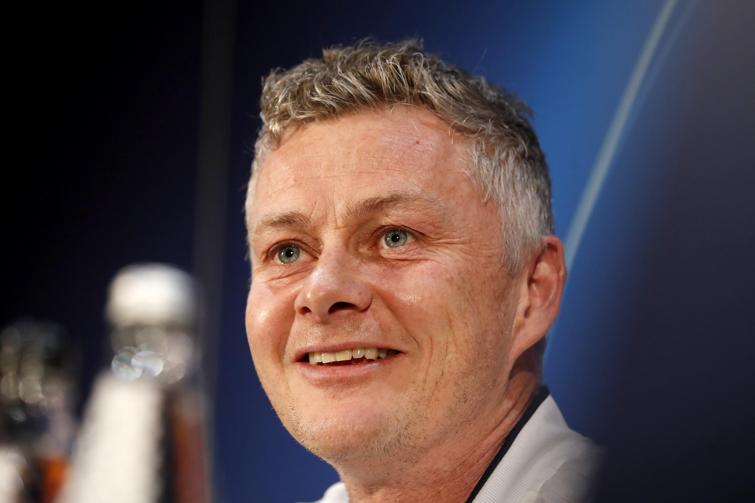 Ole Gunnar Solskjaer is hoping the Old Trafford crowd can help his side against Paris St Germain