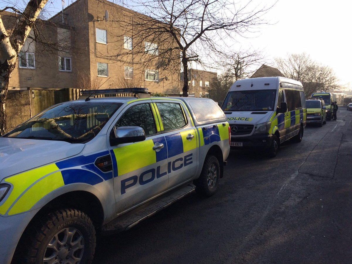 Police are conducting warrants in Cirencester. Picture by Cotswolds Police