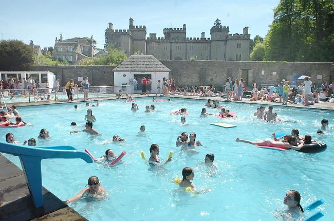 The Cirencester open air swimming pool has reopened once again for the summer