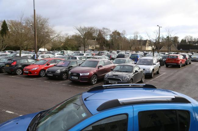 Waterloo Car Park in Cirencester