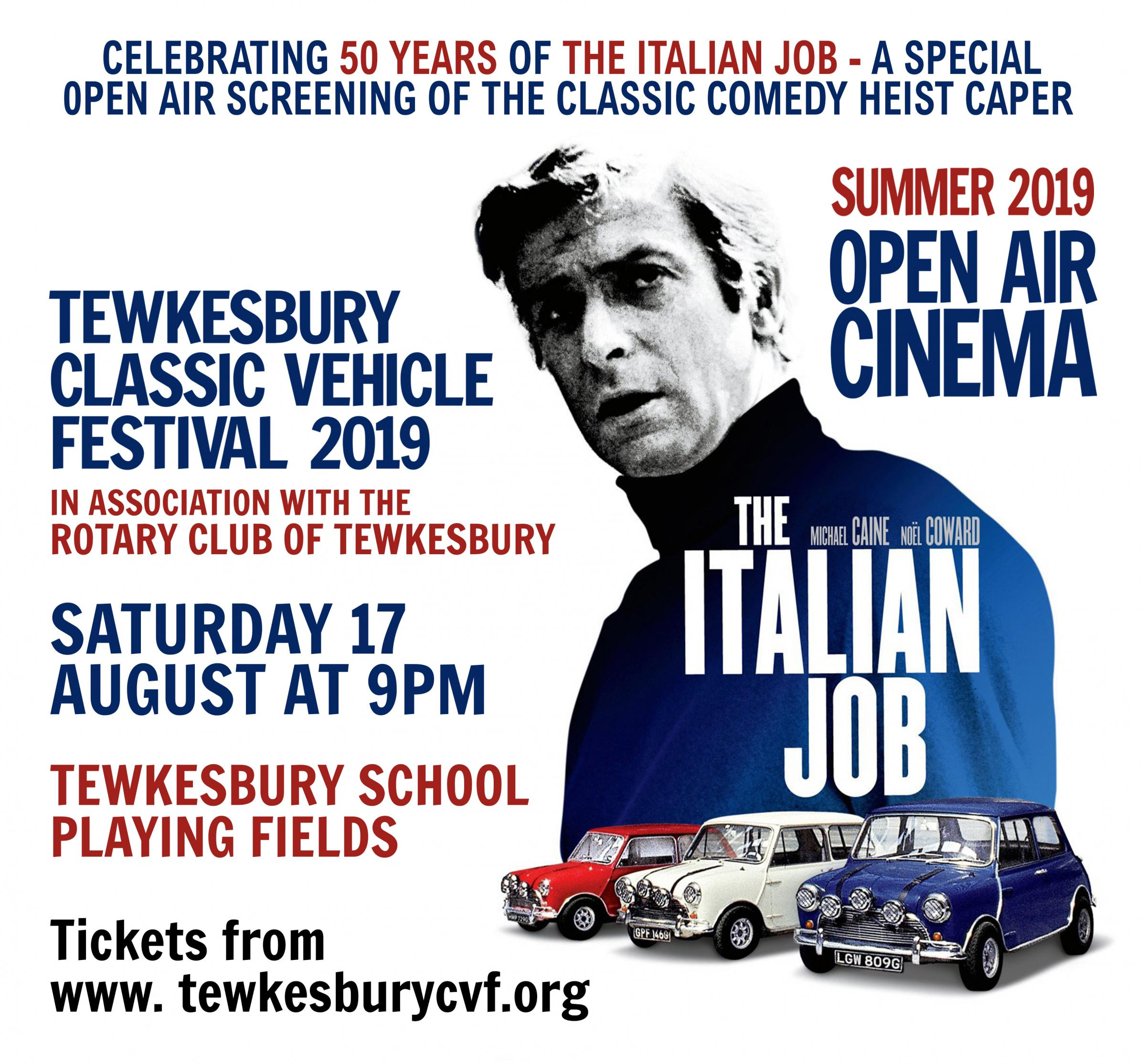 The Rotary Club of Tewkesbury Presents:  THE ITALIAN JOB