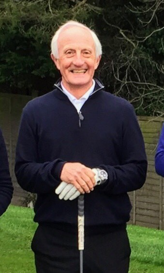 Seniors' captain David Lowbridge who won the Winter Eclectic series at Cirencester Golf Club