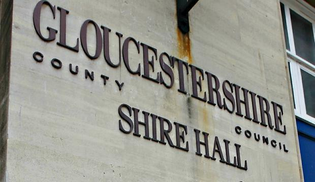 Gloucestesrhire County Council topped the Taxpayers' Allicance Town Hall Rich List