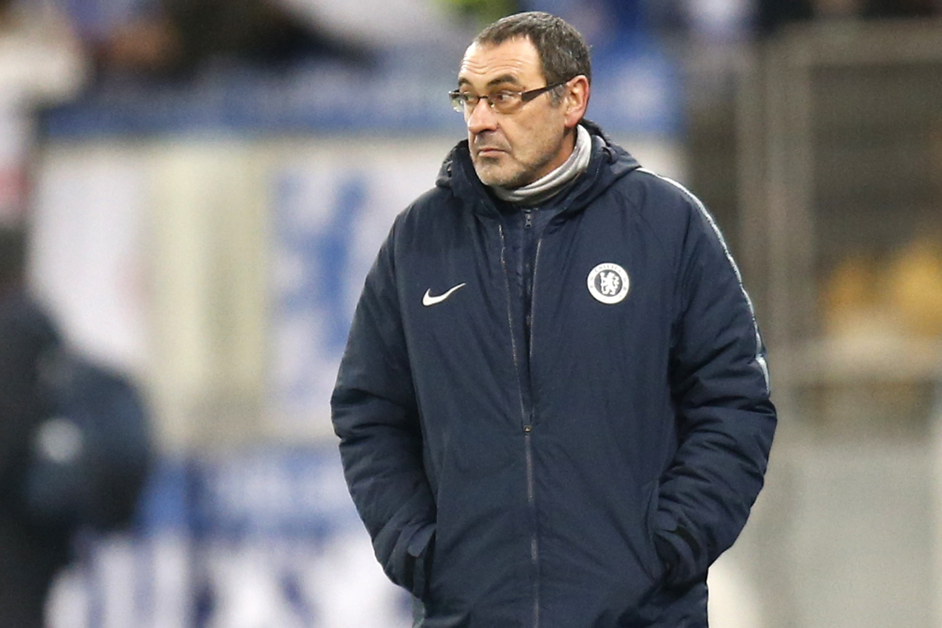 Maurizio Sarri is a former Napoli manager