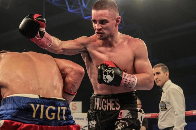 Joe Hughes lost in his bid to win the EBU European super-lightweight title last Thursday