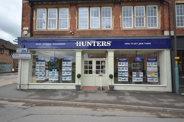 Hunters Estate Agents Dursley office