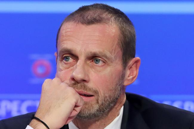 Aleksander Ceferin has been speaking about UEFA's tackling of racism in football