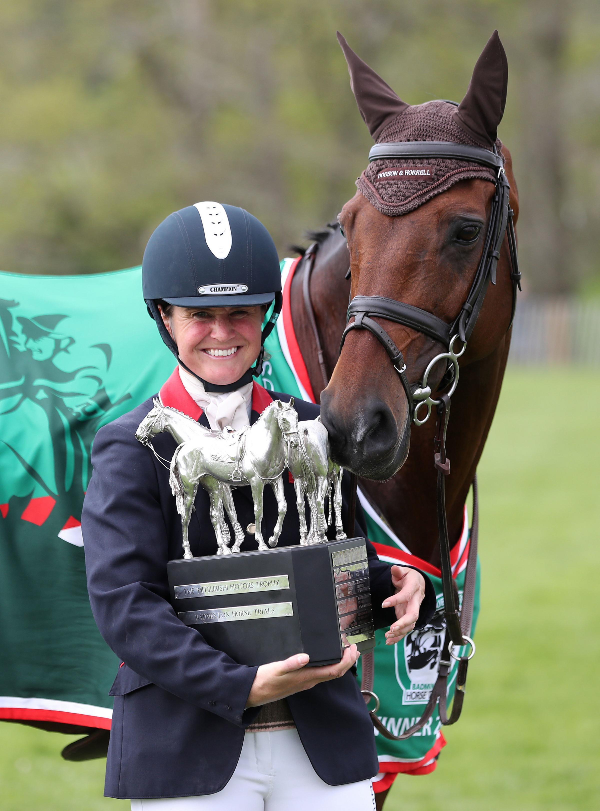 Piggy French takes 'fairytale' Badminton Horse Trials victory