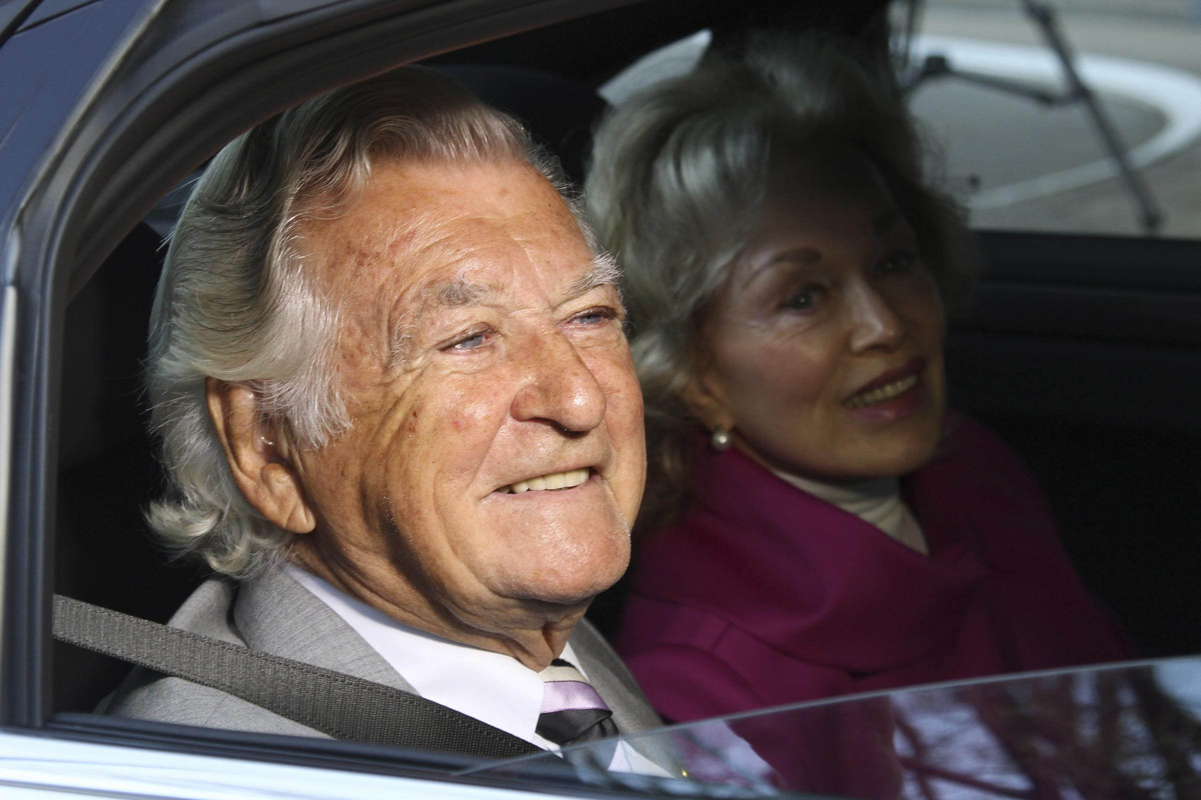 Bob Hawke and wife Blanche d'Alpuget