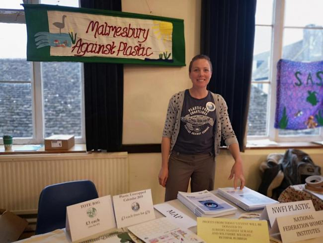 The group have held multiple events, one of the first being a plastic free festival in November. Photo by Liz Grant