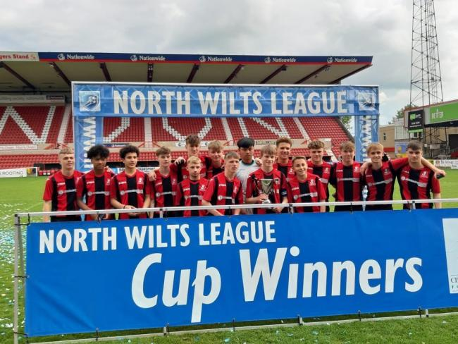 Cirencester U16s won the Wiltshire League Cup earlier this month.