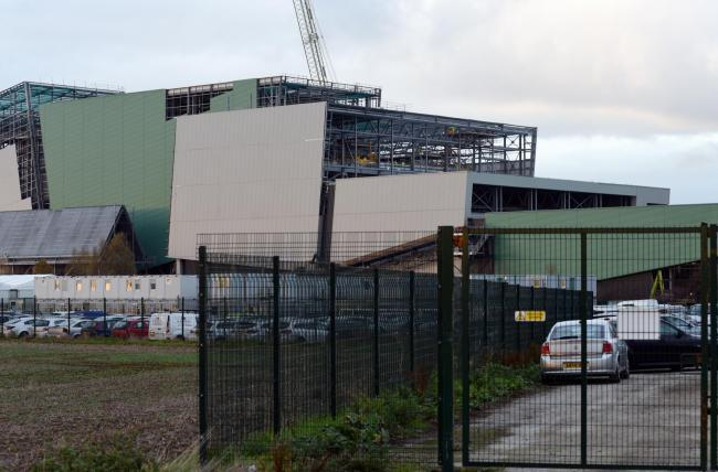 Javelin Park incinerator. Photo: Simon Pizzey